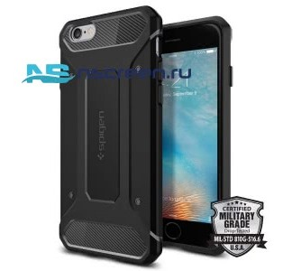 Чехол Spigen SGP - Rugged Armor для телефона Apple Iphone 6/6S